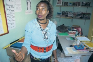 In 2012, Bull Bay All-Age School's Acting Principal Palmeta Fuller said staff and students suffer from various bronchial conditions triggered by dust from the nearby quarry. (Photo: Jamaica Observer)