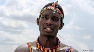 Sonyanga Ole Ngais is captain of the Maasai Warriors cricket team and an outspoken human rights and environmental advocate. He and his team travel across Kenya raising awareness on sexual health and gender equality.  (Photo: DW/A. Wasike)