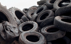 Old tires hold water and breed mosquitoes. I would like to know though, how are these being stored? What is being done with them?