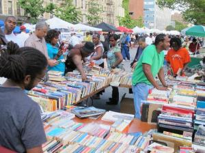 West-Blackwood would like to see the Kingston Book Festival become a street book fair, perhaps like this annual fair in Harlem, New York. (Photo: TripAdvisor)