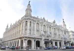 The splendid Gran Teatro de la Habana has just reopened after extensive refurbishment. The Ward Theatre in Kingston, a more modest but nevertheless historic building, is falling down. (Photo: cuba.cu)