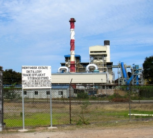 A part of the Moneymusk Sugar Factory in Clarendon. (My photo)