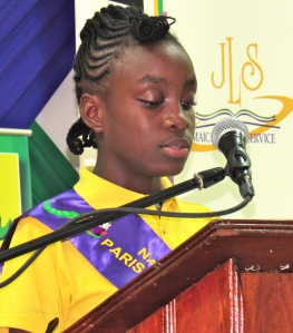 The Kingston Book Festival places the highest priority on literacy - and love of reading. Here National Reading Champion 2015 Jade Mullings told us how important the National Reading Competition was for her development, at the launch of the 2016 edition.