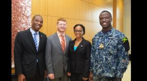 """Three Jamaicans participated in the U.S. State Department's International Visitor Leadership Program earlier this month. The program focused on """"Combating Corruption."""" (Photo: U.S. Embassy)"""