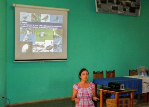 Cuba used the CWC as an opportunity to conduct a workshop on wetland biodiversity for a local community in Los Palacios, Pinar del Río (photo courtesy of Alieny Gonzalez).
