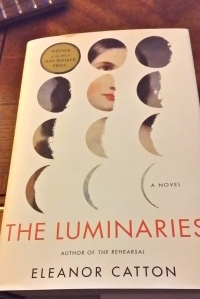 """The Luminaries"" is a pretty substantial tome..."