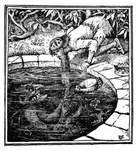 A picture from the Green Fairy Book by Henry Justice Ford, a wonderful illustrator.