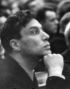 The Russian Jewish novelist and poet Boris Pasternak (1890-1960), who won the 1958 Nobel Prize for Literature - much to the annoyance of the Soviet Union.