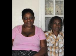 Paulette James (left) and Janet James, who died in a suspicious fire in Crossroads, St. Ann last Sunday. (Photo: Gleaner/Contributed)