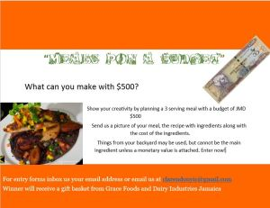 Meals Pon A Budget Challenge