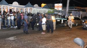"A police raid on a strip club on Ripon Road, Kingston, over the weekend. Part of the ""Tidal Wave."" (Photo: Loop Jamaica)"