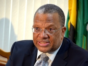 Opposition Finance Spokesman Peter Phillips' general tone is one of irritation and frustration. (Photo: Irie FM)