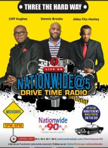 Damian Crawford is adding to the roster of male voices on Nationwide Radio.