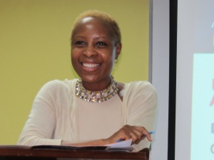 "Outgoing chair of the Jamaica National Family Planning Board-Sexual Health Agency Dr. Sandra Knight urged doctors to be ""softer"" when talking to women about health concerns like fibroids. (My photo)"