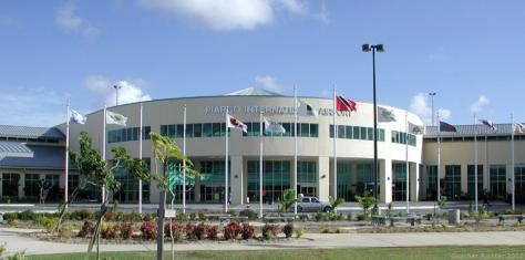 Piarco International Airport in Port-of-Spain, Trinidad.