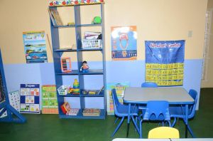 ESP Classroom - Section of a classroom at the Early Stimulation Centre of Excellence - Mikhail Betancourt Building, retrofitted with learning resources for children 0-8 years with special needs.
