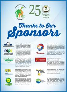 Big ups to the sponsors of JET's Schools Environment Programme. Let's see more coming on board!