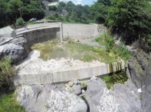 National Water Commission catchment in Gordon Town, just one year ago. (Photo: Gleaner)
