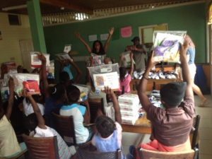 At the Pringle Children's Home in St. Mary. (Photo: themadgirls.com)