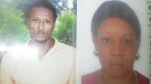 Rohan Atkinson and Kimberly Brown were shot dead by men on a motorbike, while going to help at what appeared to be an accident scene in Prospect, Hanover. (Photo: Loop Jamaica)