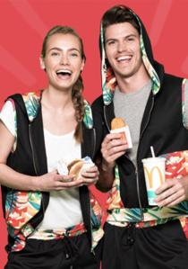 Hey! Going to Rio with McDonald's!
