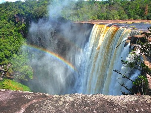 Kaiteur Falls, Guyana. (Photo: travelingted.com)
