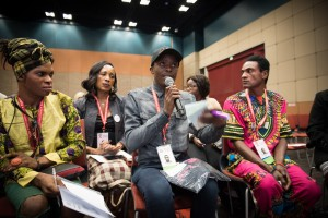 Transgender participants speak at the ongoing International AIDS Conference in Durban, South Africa. (Photo: aids2016.org)