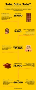 diGJamaica's infographic on the JEEP program.