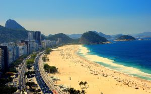 Rio has stunning beaches - Ipanema and Copacabana are famous ones. Be careful of street crime, though!