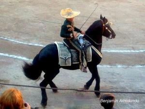 A Charro at a Mexican rodeo. (Photo: Benjamin Arredondo)