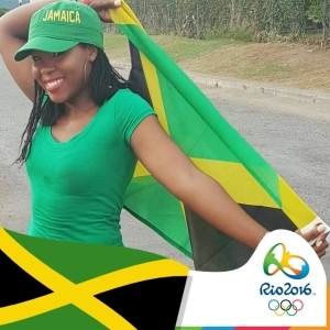 Youth activist Kemesha Kelly just got into the Rio mood… (Photo: Facebook)