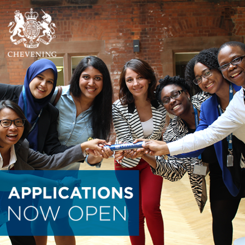 Applications for the 2017/18 Chevening Scholarships are now open. Apply today!