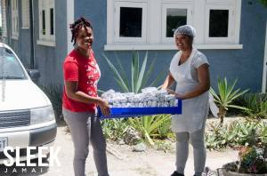 Volunteering at different events is what J-FLAG do on a regular basis. During PRIDE week they gave back by feeding over 5,000 fellow Jamaicans in five parishes. (Photo: Facebook)