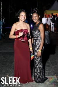 There were some stunning outfits, and sheer glamor, at the PRIDE Black Tie event. (Photo: Facebook)