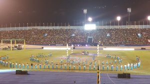 Independence Gala at the National Stadium this evening. (Photo: Ministry of Culture/Twitter)
