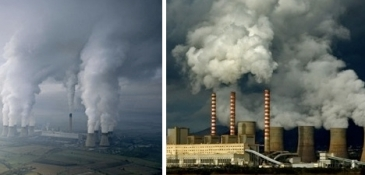 Coal is the undisputed leader in dirty fuel sources. But beyond the issue of global warming/climate change (burning coal is the number one source of the greenhouse gas, carbon dioxide), coal-fired power plants also release dangerously high levels of sulfur dioxide, nitrogen oxide, mercury, arsenic, lead, carbon monoxide and hydrocarbons into the atmosphere, creating environmental hazards both near the plants (i.e smog, respiratory complications, fouled water from coal-slurry impoundments), and far from the plants (i.e acid rain, mercury pollution in rivers and oceans, etc.). And that is only the burning of coal, to say nothing of the mining and transportation of it. (Source: Webecoist)