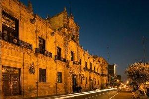 The Palacio De Gobierno, Guadalajara, Jalisco State, Mexico.