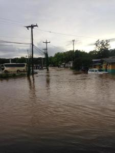 The situation in Negril a week or so ago. (Photo: Facebook)