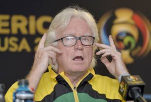Reggae Boyz coach Winfried Schaefer.