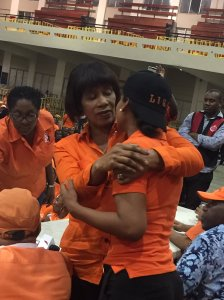 Tweet from @PSimpsonMiller: I want Cde @LisaHannamp to know that she has a bright future ahead in the PNP. She did well and her time will come.