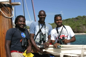 Workshop participants in Union Island, the Grenadines. (Photo: BirdsCaribbean)