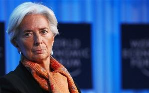 Christine Lagarde, managing director of International Monetary Fund Photo: AFP