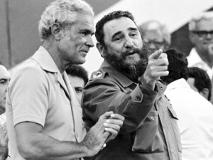Former Cuban President Fidel Castro was also Manley's lifelong friend. (Photo: PNP Jamaica)
