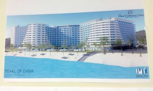 """The """"Pearl of China"""" to be built in St. Maarten for Chinese tourists. (Picture: The Daily Herald, St. Maarten)"""