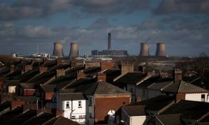 """""""Ending the use of coal is a simple, no-regrets public health intervention,"""" says the UK Health Alliance on Climate Change. Photo: Fiddlers Ferry coal-fired power station in Widnes, northern England. Pollution from coal plants alone costs the UK as much as £3.1bn each year in human health impacts. Photograph: Phil Noble/Reuters"""