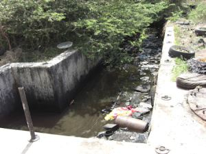 The Jamaica Environment Trust made extensive use of the Access to Information Act to obtain information on the Harbour View Sewage Plant, which had been non-functioning for decades. This is the plant in 2009… (Photo: Jamaica Environment Trust)