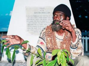 For some years now, Derrick Robinson has been campaigning for Tacky, the instigator of the Easter Rebellion of 1760, to be named as a National Hero. (Photo: Gleaner)