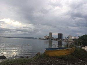 Downtown Kingston. (Twitter photo by Saffrey Brown)