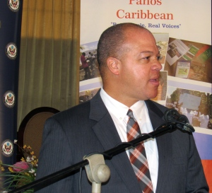"""Walter Bryan """"Mike"""" Hill of the Florida House of Representatives is a """"climate change denier."""" (My photo)"""