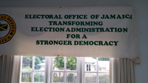 The Electoral Office/Electoral Commission of Jamaica has made enormous progress in recent decades. (My photo)